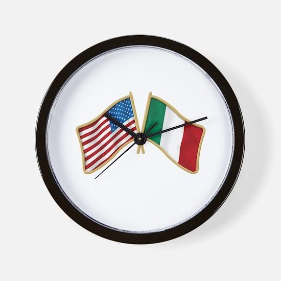 Cute Italian american Wall Clock
