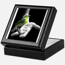 I Would I Were Thy Bird Keepsake Box