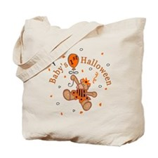 Baby Girl's 1st Halloween Tote Bag