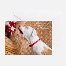 Get What You Want Holiday Card Greeting Cards