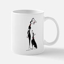 Doberman and Doberwoman Mugs