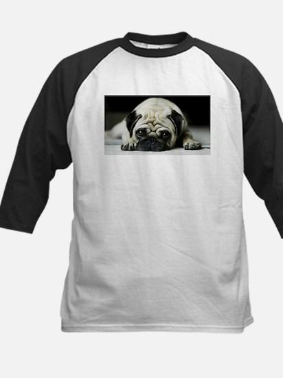 Pug Puppy Baseball Jersey