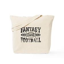2014 Fantasy Football Champion - Football Tote Bag