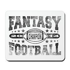 2014 Fantasy Football Champion - Footbal Mousepad