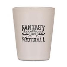 2014 Fantasy Football Champion - Footba Shot Glass