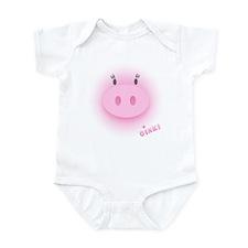 Pinky Oink Pig Infant Bodysuit