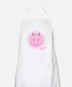 Pinky Oink Pig BBQ Apron