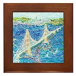 Golden Gate San Francisco Framed Tile