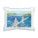 Golden Gate San Rectangular Canvas Pillow