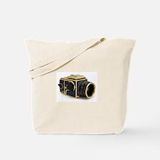 Vintage camera, hasselblad, Tote Bag