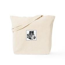 Vintage camera, hasselblad, n Tote Bag