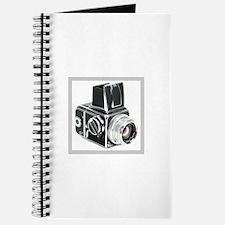 Vintage camera, hasselblad, n Journal