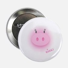 Pinky Oink Pig Button