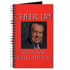 Nixon was re-elected Journal