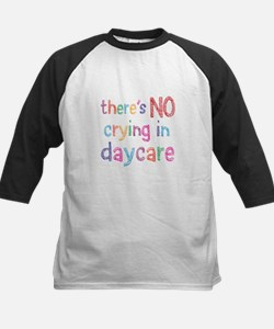 No Crying In Daycare Baseball Jersey