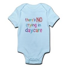 No Crying In Daycare Body Suit