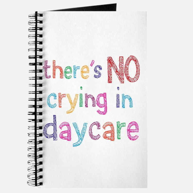 No Crying In Daycare Journal