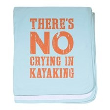 No Crying In baby blanket