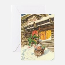 Funny Christmas thank you Greeting Cards (Pk of 20)