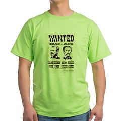 Jesse & Frank James Green T-Shirt