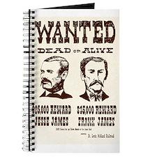Jesse & Frank James Journal