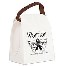Melanoma Warrior Canvas Lunch Bag