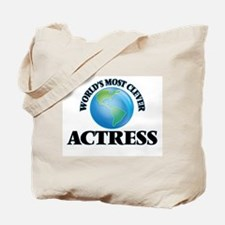 World's Most Clever Actress Tote Bag