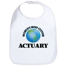 World's Most Clever Actuary Bib