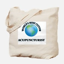 World's Most Clever Acupuncturist Tote Bag