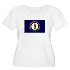 Kentucky Flag: Plus Size T-Shirt