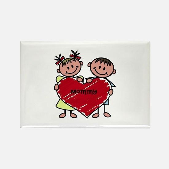 Lots of Love Custom Rectangle Magnet
