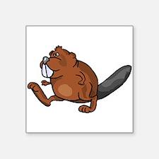 Beaver Walking Sticker