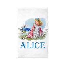 Alice in Wonderland Area Rug