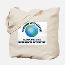 World's Most Clever Agriculture Research Tote Bag