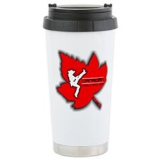 Cute Canadian girls kick ass Travel Mug