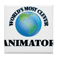 World's Most Clever Animator Tile Coaster