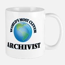 World's Most Clever Archivist Mugs