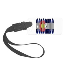 Colorado State_Flag Luggage Tag