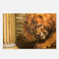 Rubens lion Postcards (Package of 8)