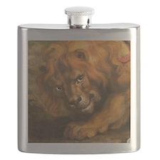 Rubens lion Flask