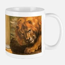 Rubens lion Mugs