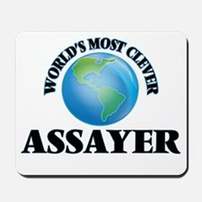 World's Most Clever Assayer Mousepad