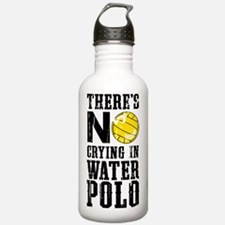 No Crying in Water Pol Water Bottle