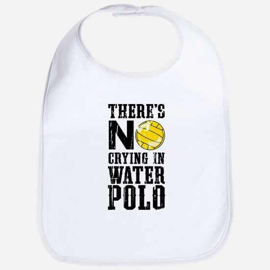 No Crying in Water Polo Bib