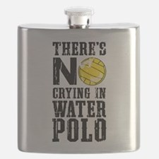 No Crying in Water Polo Flask
