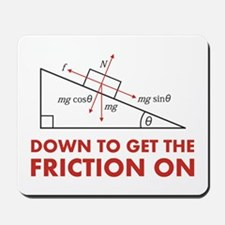 Down to Get the Friction On Physics Diagram Mousep