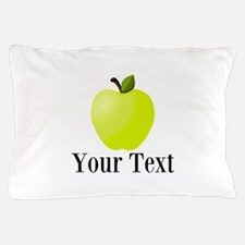 Personalizable Green Apple Pillow Case