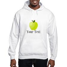 Personalizable Green Apple Hoodie