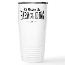 Unique I'd rather Travel Mug