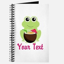 Personalizable Cocktail Frog Journal
